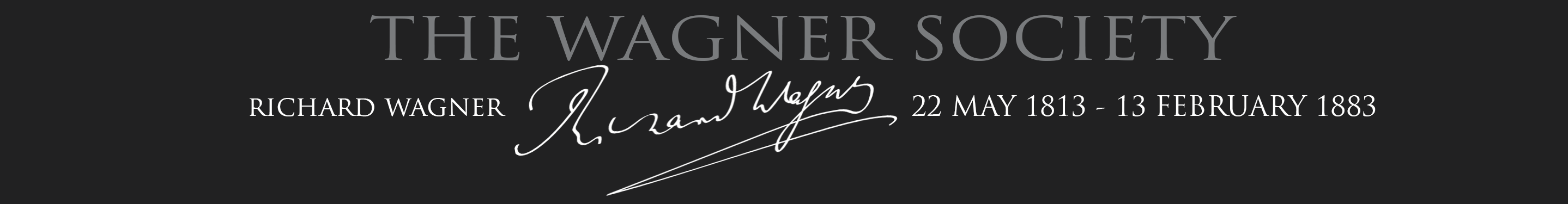 The Wagner Society
