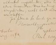 Letter from Adrian Muller